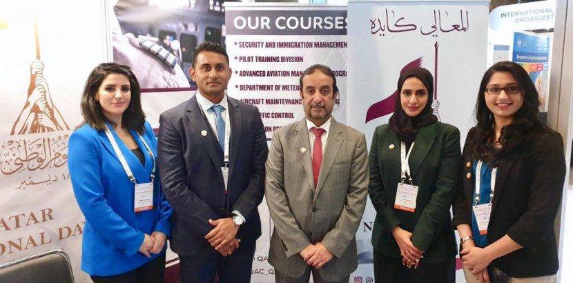 Qatar Aeronautical Academy participation in the Sixth ICAO Global Aviation Training and TRAINAIR PLUS Symposium