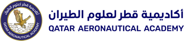 The logo of Qatar Aeronautical Academy